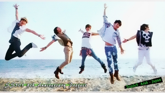 SS501 8th Anniversary Project